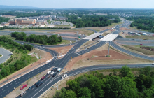 I-66/Route 15 Diverging-Diamond Interchange