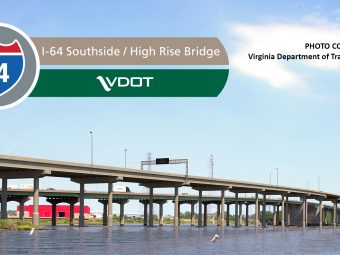 I-64 Southside Widening and High-Rise Bridge, Phase I