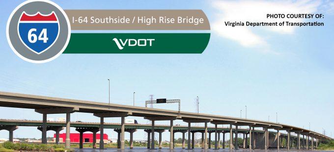 I-64 Southside Widening and High-Rise Bridge, Phase I